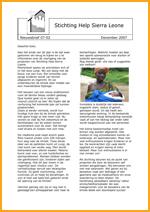 2007-2 Nieuwsbrief SHSL-1