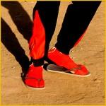 Uitdelen sokken